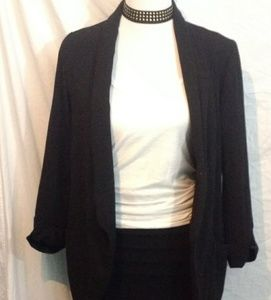 Lush Relaxed Goes With Everything Cardi Blazer S
